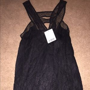 Lace tank top brand new